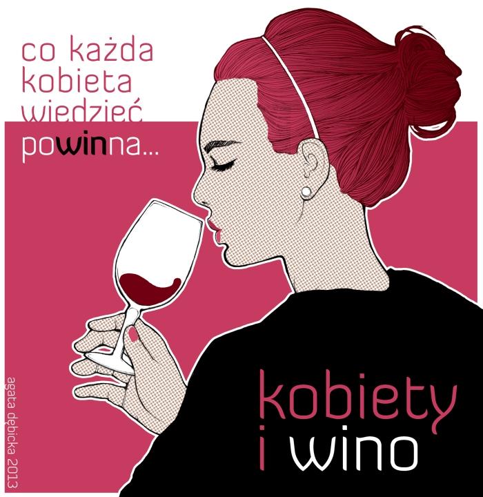 reklama_logo kobiety i wino naklejka reklamowa